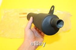 Nos Suzuki 1980-1981 Ts100 Ts125 Exhaust Muffler Part# 14303-48500