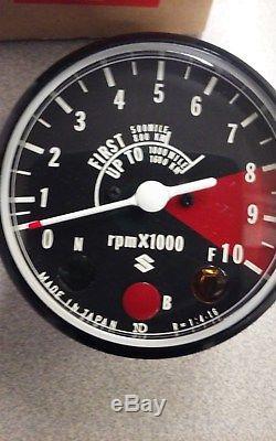 Nos Suzuki Tachometer 34200-28010-999 Ts125 Ts185 Duster Sierra Tach