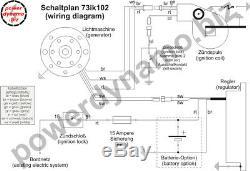 Powerdynamo MZ-B VAPE Ignition Stator System for Suzuki 71-78 TS 185 250 DC Sys
