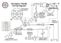 Powerdynamo MZ-B VAPE Ignition System Stator Suzuki RV125 RV 125 TS125 TS 125 DC