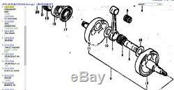 SUZUKI NOS OEM 12200-30002 Engine Crankshaft Crank TM250 TS250 RL250 1971-1976