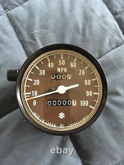SUZUKI RV125 TS125 TC125 Speedometer & Tachometer 34101-28615 + 34201-28015