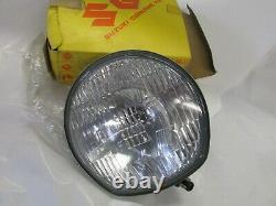 SUZUKI T250 T350 TS400 nos headlight 1971-1972 12 volt 35121-18610