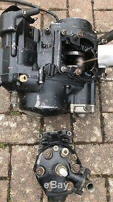 SUZUKI TS 125 X 1984-1988 Engine