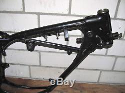 SUZUKI TS 80 ER 87kmh 1980 Rahmen Motorrad 5KW Fahrzeugbrief Frame unfallfrei
