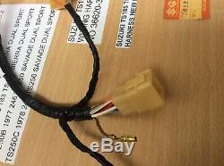 SUZUKI TS185 TS250 77-79 REAR WIRING HARNESS NEW PT 36620-30504 s/s 36620-30505