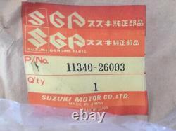 SUZUKI TS75 TS50 1971-1977 11340-26003 Clutch Crankcase Cover JAPAN N. O. S