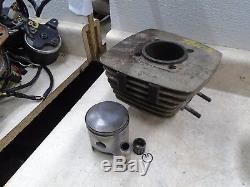 Suzuki 185 TS SIERRA TS185 Used Engine Cylinder & Piston 65.50mm 1972 SB103