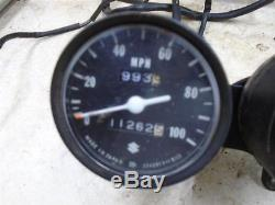 Suzuki 185 TS SIERRA TS185 Used Speedometer Tachometer Gauges 1972 SB103