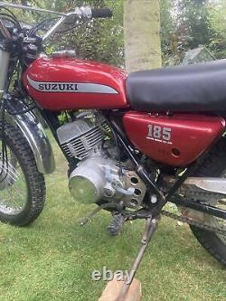 Suzuki 185 Tc/ts 185 1974/5 Suzuki Original Fs1e Dt Ts Tc Barn Find Trail Bike