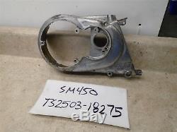 Suzuki 250 TS TS250 Engine Left Stator Cover 1972 SM450 WD
