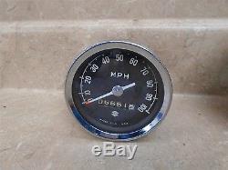 Suzuki 250 TS TS250 SAVAGE Used Speedo Speedometer Vintage 1969 #MT891