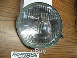 Suzuki 72 TS400 71-72 T250 71 T350 NOS Sealed Beam Headlight Lens OEM LAST ONE