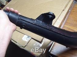 Suzuki 74-77 TS400 TS 400 NOS Pipe Muffler Exhaust & Baffle 14301-32632 AHRMA