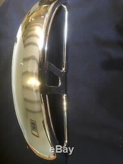 Suzuki Chome front fender SP / TS / DR NOS 53110-32401-000
