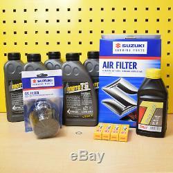Suzuki GSX-R 1100 89-92 Serviceset Original Ölfilter Luftfilter Zündkerzen GV73C