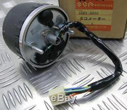 Suzuki Gt125 / Rv125 / Ts125 / Ts185 / Tc125, New Oem Tachometer, 34201-36010