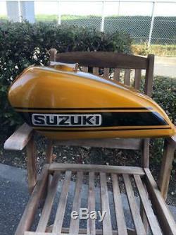Suzuki Hustler TS 250 VMX Genuine Tank Vintage Motocross Rare