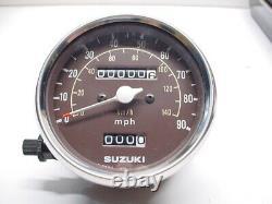 Suzuki NOS 1977 1978 TS185 TS250 B C Speedometer 34101-30510 New Clock