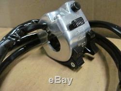 Suzuki NOS OEM Left Handlebar Lighting Switch TC125 TS185 TS250 57700-28632