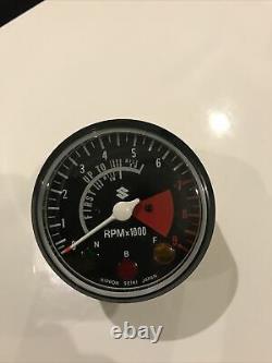 Suzuki Nos Tachometer Ts 250 400 Gt 500 Titan Tc 305 Rebel 1970 71 72. Rare