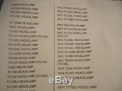 Suzuki Nos Tc125 Ts50 1972, Headlamp Housing, 51810-26600 #211