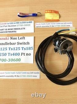 Suzuki Nos Ts125 Tc125 Ts185 Ts250 Ts400 Handle Switch Assembly 57700-30600