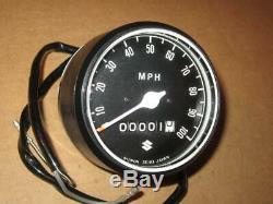 Suzuki Nos Vintage Speedometer Ts250 1969-70 34100-16610
