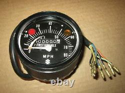 Suzuki Nos Vintage Speedometer Ts50 1973-74 34100-26611-999
