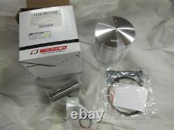 Suzuki TM400 TS400 NEW 2nd over piston and ring set 1971-1977 (1.0) Wiseco