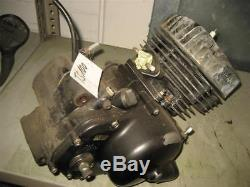 Suzuki TS 100, TS125 Complete Engine with Clutch Engine s1252-240131