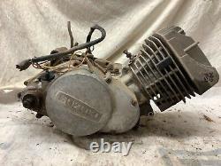 Suzuki TS 185. Engine