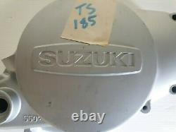 Suzuki TS 185 SIERRA Clutch Cover 1971 1972 1973 1974 1975 1976 11341-29001 NOS