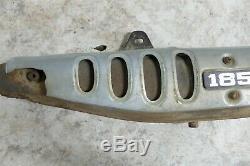 Suzuki TS 185 TS185 muffler pipe exhaust