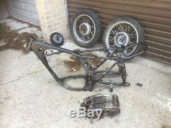Suzuki TS 250 Savage 1969 Wheels, Frame, Engine parts, Crank