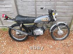Suzuki TS 50 1971 Main Frame Chassis With V5C & Registration Plate Not AP50