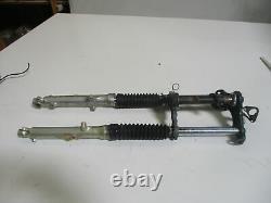 Suzuki TS 50 XK / ER Bj. 79 Gabel mit 27 mm Standrohre Gabelbrücke oben unten for