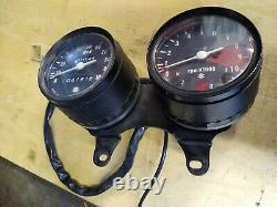 Suzuki TS Speedo Rev Counter from a 1975 TS250 Suzuki instrument clock set