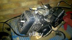 Suzuki TS100 ER Mid 1980s Monoshock Engine & carburettor. Sent recorded tracked