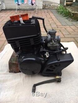 Suzuki TS100 engine