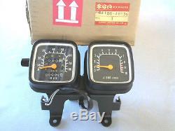 Suzuki TS125/185 NEW GENUINE SPEEDO / TACHO METER COMPLET 34100-48535 last unit