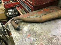 Suzuki TS125 Aftermarket Exhaust Pipe Expansion Chamber TS 125 Torque 1972