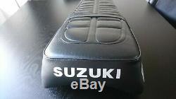 Suzuki TS125 ER Seat. Brand New