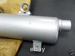 Suzuki TS125 Exhaust Muffler NOS TS125X EXHAUST PIPE 14300-01A01 2nd MUFFLER