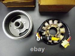 Suzuki TS125 Magneto Stator Rotor Set 1989-1994 NOS TS125R Fly Wheel 32101-03D00