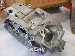 Suzuki TS125 TC125 RV125 nos crankcase assy 1971-1974 11300-28830