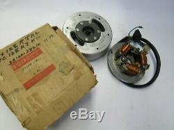 Suzuki TS125 TC125 nos flywheel stator magneto assy 1971-1974 32100-28610
