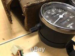 Suzuki TS125 TS185 Speedometer&Tachometer Gauge Meter NOS Genuine 34100-48002