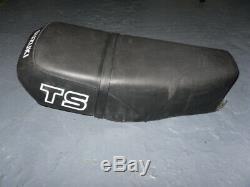 Suzuki TS125 TS185 TS250 Seat Rare / Metal Base / Hard To Find Item Please