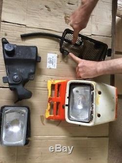 Suzuki TS125 X TS 125X Tank & Panels & Headlight Etc JOB LOT